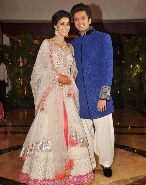 Ritesh Deshmukh with Genelia