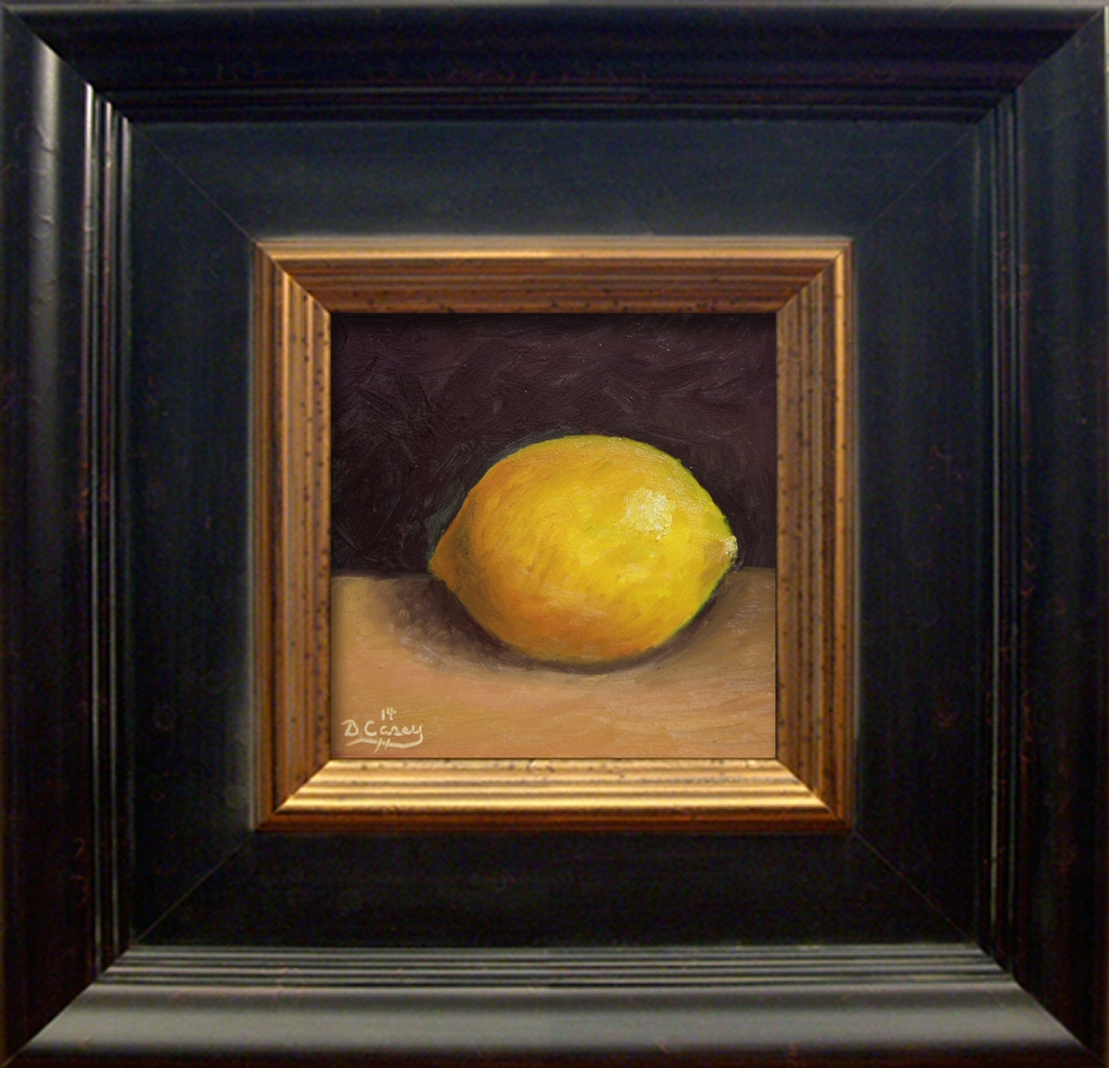 Kitchen Painting - Lemon 004a 5x5 oil on gessobord - Dave Casey - TheDailyPainter.jpg