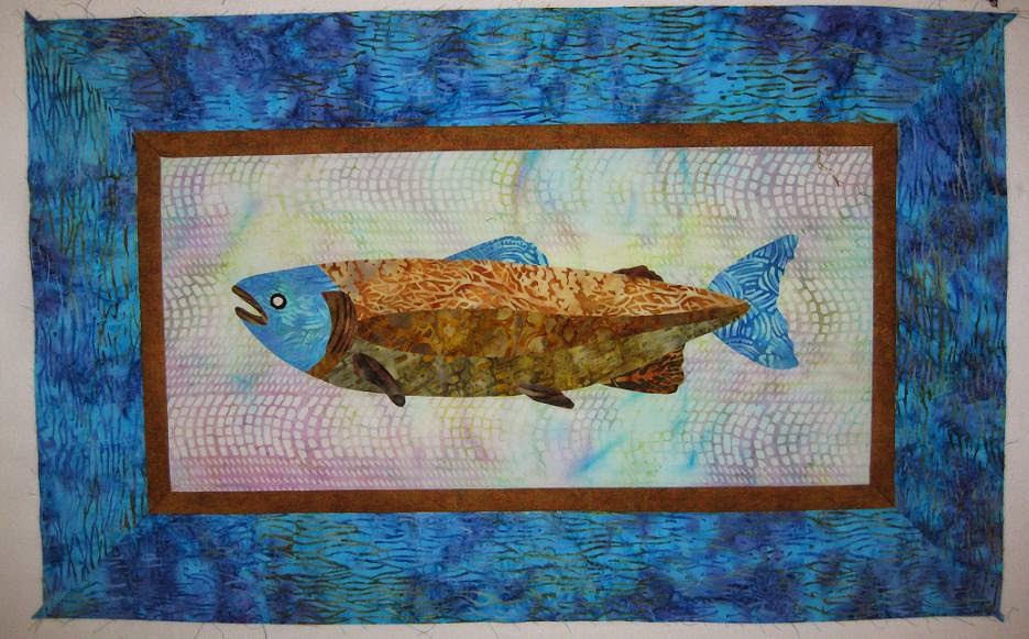 Trout wallhanging