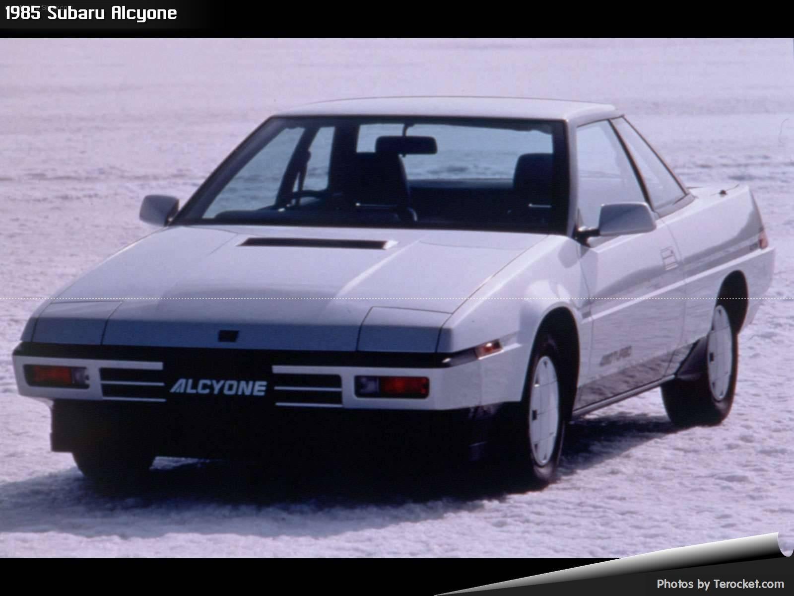 Hình ảnh xe ô tô Subaru Alcyone 1985 & nội ngoại thất