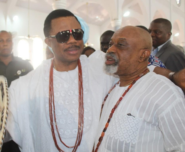 PHOTOS: Labour Minister Chris Ngige buries father