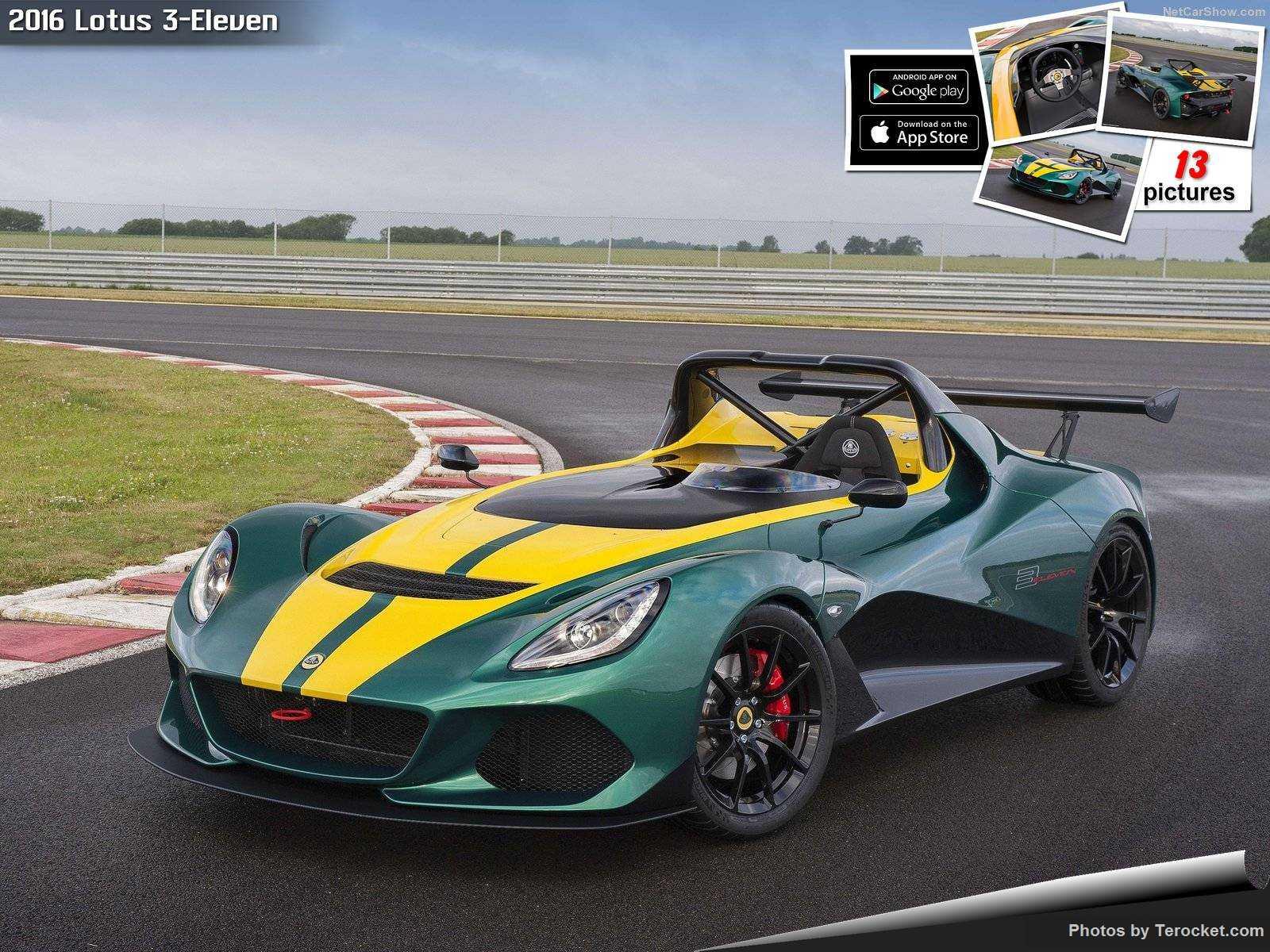 Hình ảnh siêu xe Lotus 3-Eleven 2016 & nội ngoại thất