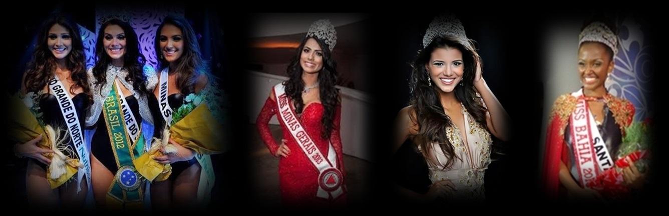 MISSES UNIVERSO BRASIL TOP TRES 2012 E 2013