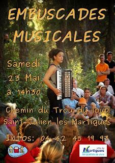 Fanfare TTGL aux embuscades musicales 2015