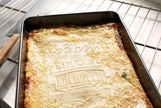 Livro culinária lasanha