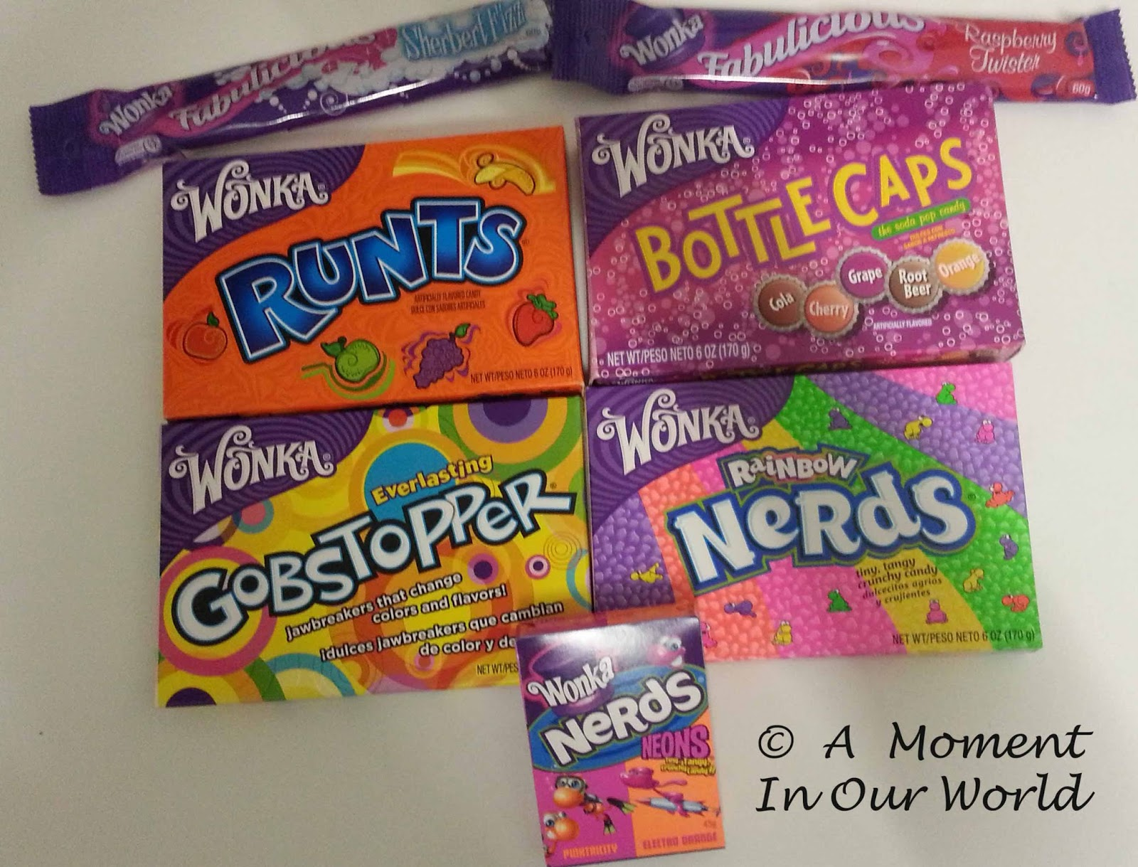 willy wonka charlie and the chocolate factory a moment in our world some of the wonka candy we found at different shops