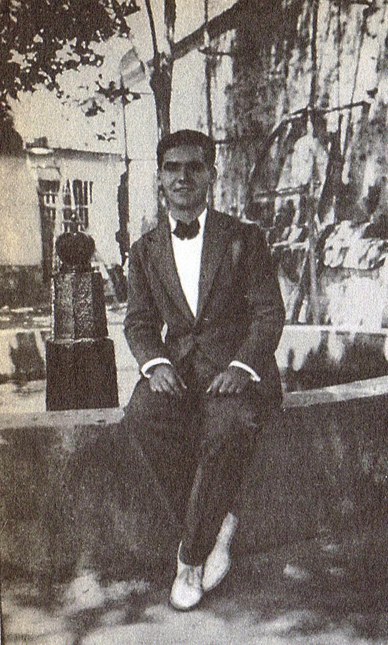 Lorca en Granada en 1927