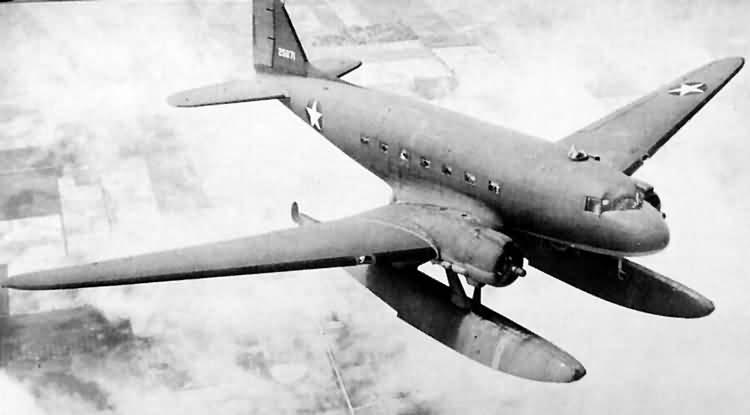 Dakota DC-3A-360+XC-47C+42-5671+cn+7365