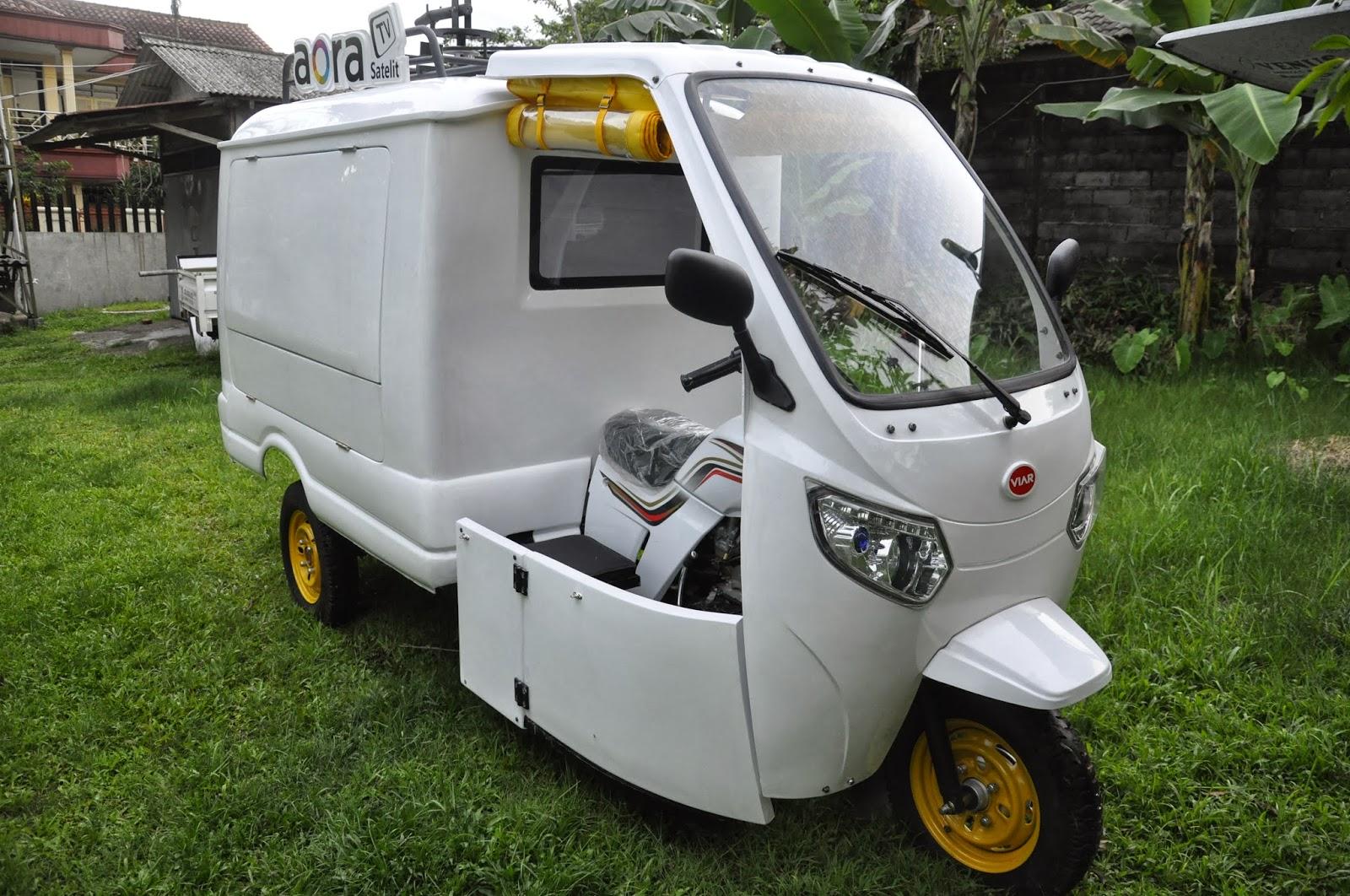 Motor Niaga Roda Tiga Kaisar Triseda Rx 250 Cc Long Box New Karya Bit