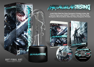metal gear rising revengeance limited edition ps3 Metal Gear Rising: Revengeance Limited Edition   Details & Image