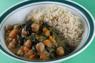 Slow Cooker Honey Beans and Spinach