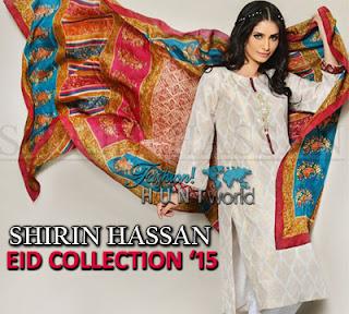 Shirin Hassan Eid 2015 Collection