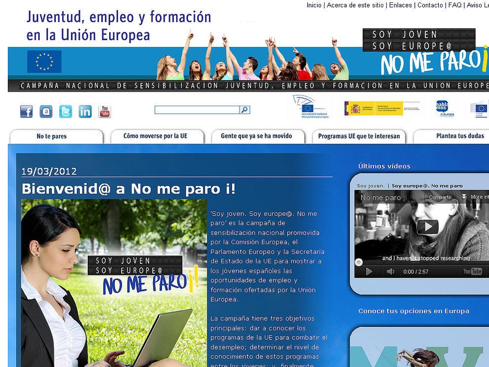 Sitios en web