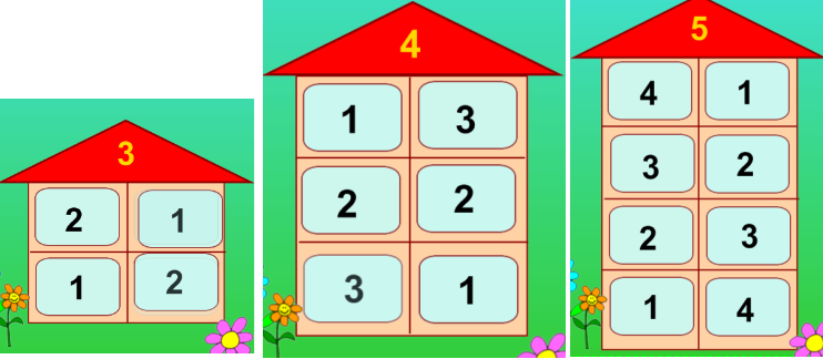 Продолжаем учить состав чисел
