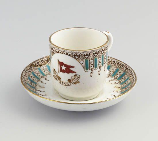La vaisselle en porcelaine Titanic+1