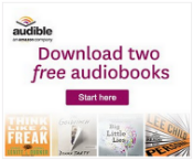 Download two free audiobooks from Audible.