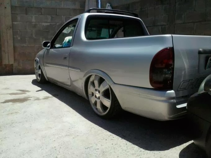 Pick up Corsa rebaixada a venda