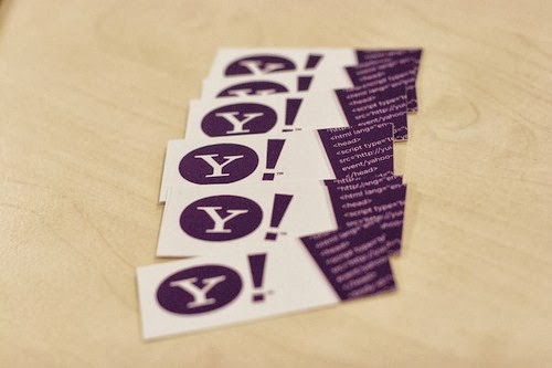 Best Business Cards example For Websites blog developer yahoo