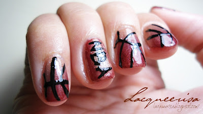 NOTD - Basketball Nails
