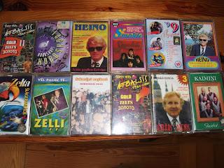 audio kasetes