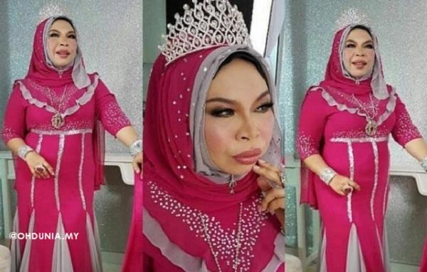 Dato' Seri Vida ada 10 Koleksi Mahkota, Ada yang mencecah RM100K