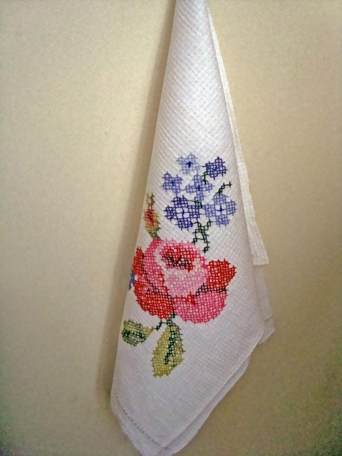 Рисунки на полотенце своими руками