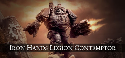 Iron Hands Contemptor Dreadnought