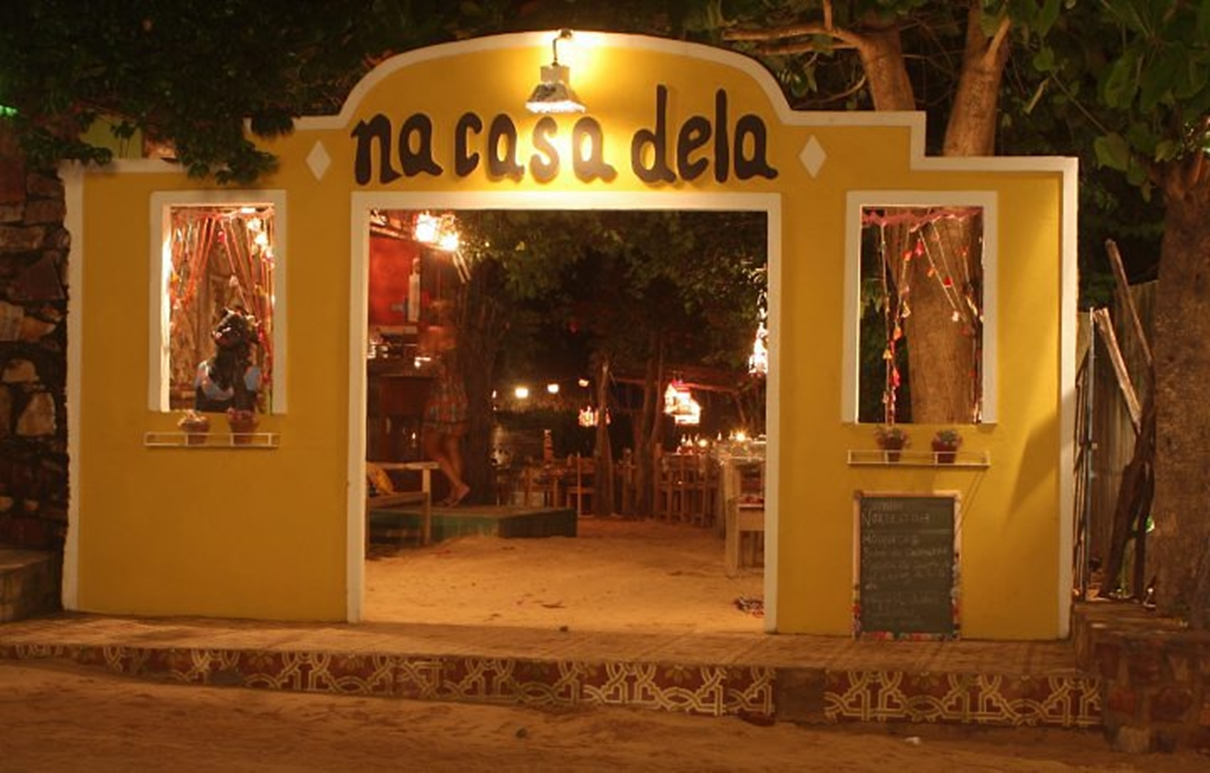 Brasil Da Cor Do Mar Restaurante Na Casa Dela
