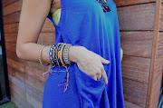 Palmilla Tunic [Fete Knits] Bracelets (vintage) Friendship bracelets (Playa, . (royalblues)