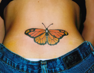 Schmetterling Falter Tattoo
