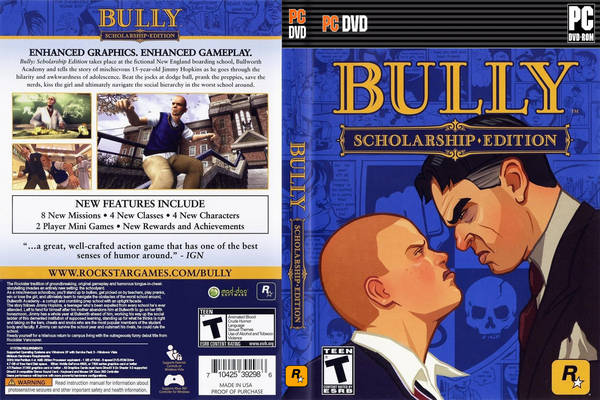 Download Game Bully: Scholarship Edition FREE