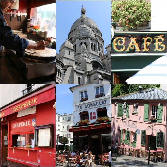 ein Spaziergang durch Montmatre mit Kindern in Paris Sache Coeur
