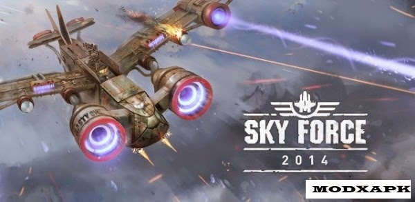 Sky Force 2014 v1.33 Mod APK (Unlimited Stars/Unlocked)