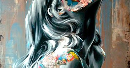 Los collages de Sandra Chevrier