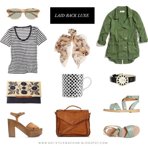 luxurious relaxed style and favorite wardrobe staples for March 2013
