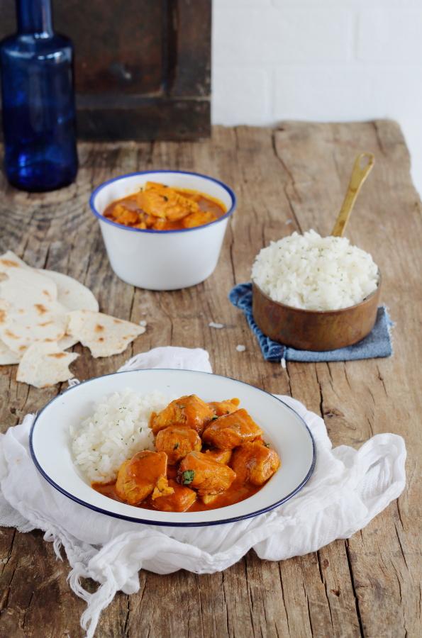 Pollo tikka masala by Jamie Oliver mi gran diversion