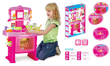NEW Pink Kitchen PlaySet,Sale!!!  RM 75 only