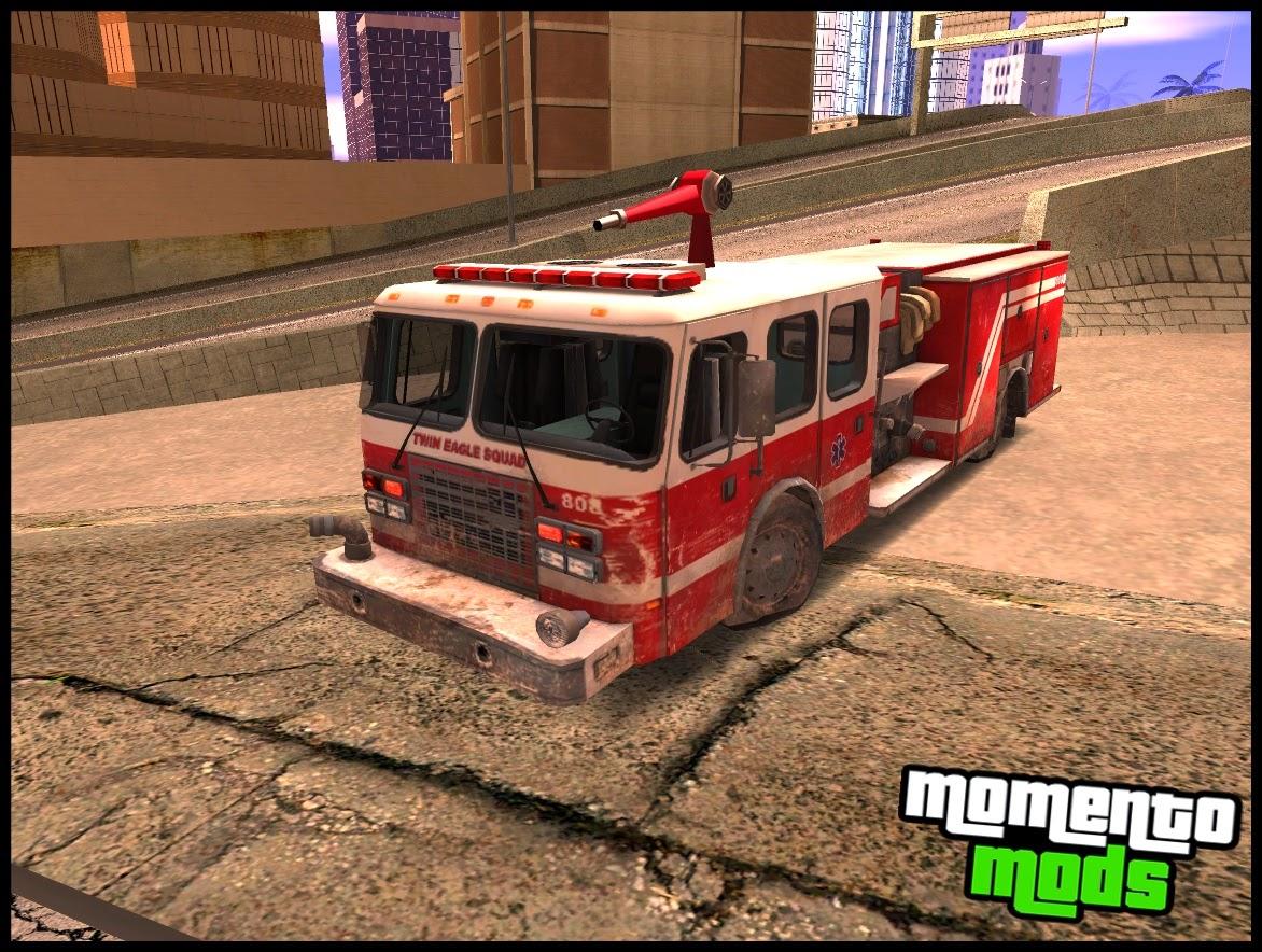 GTA SA - Caminhão Do Bombeiro
