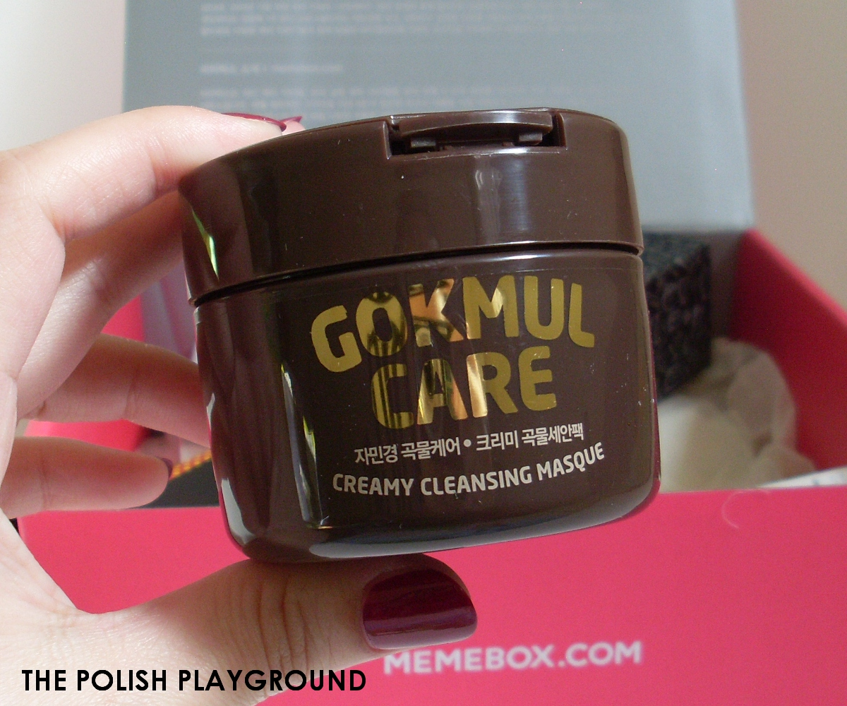 Memebox #9 Unboxing - Jaminkyung Gokmul Care Creamy Cleansing Masque