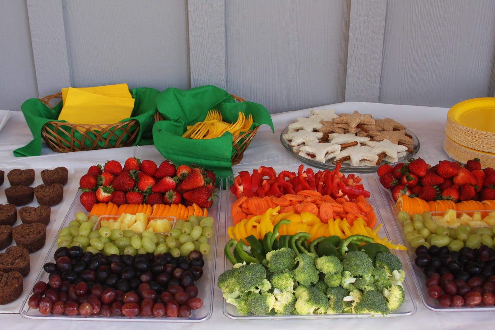 Veggie Tray Rainbow Rainbow Colored Veggies And