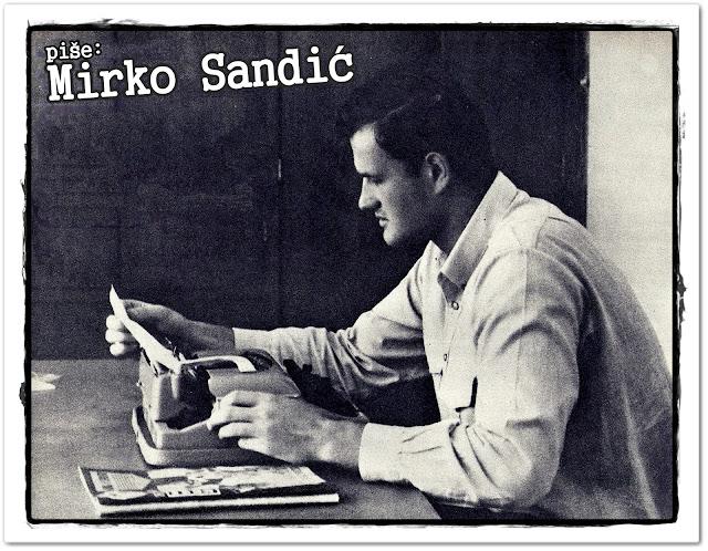 Mirko Sandic jugoslovenski vaterpolo šezdesete sportista novinar