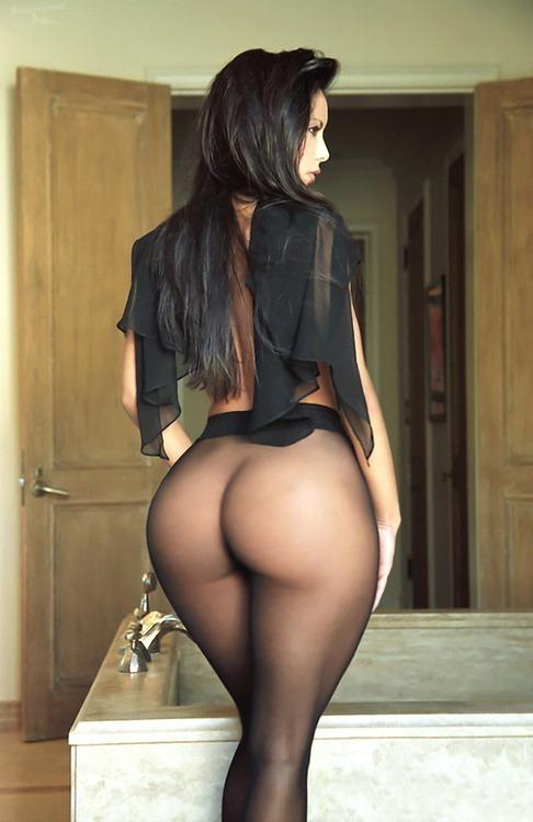 Big ass see through