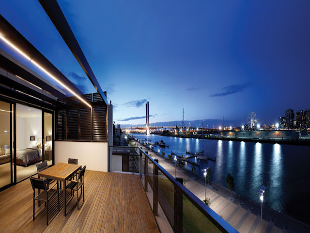 Photo of incredible view from the terrace on the third floor