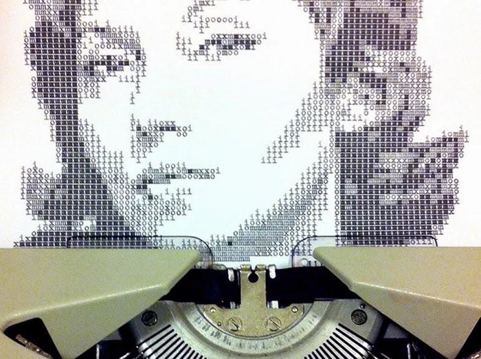 Amazing Art with Typewriter