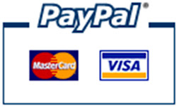 We accept payment  by mastercard/visa