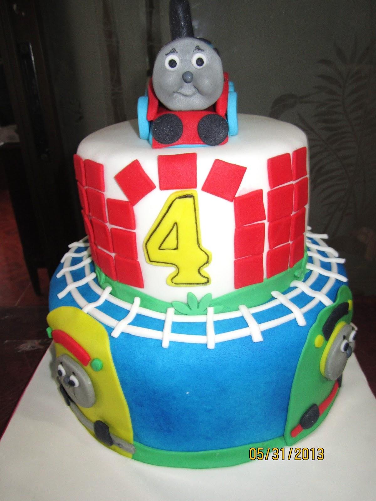Thomas Train Cake Jnyj J Nee J Cakes