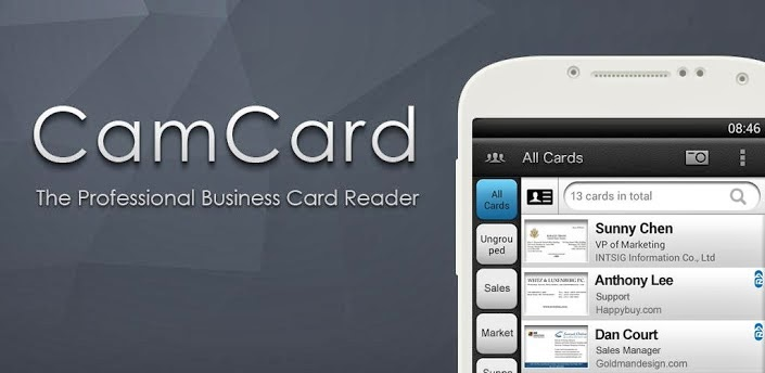 Camcard business card reader v5002 full apk reheart Choice Image