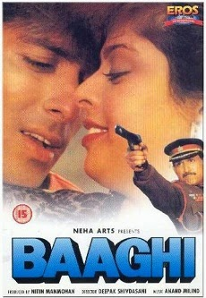 Baaghi 1990 Poster