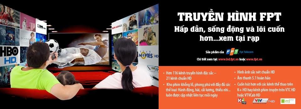 Dịch vụ truyền hình cáp FPT Play HD Bến Tre