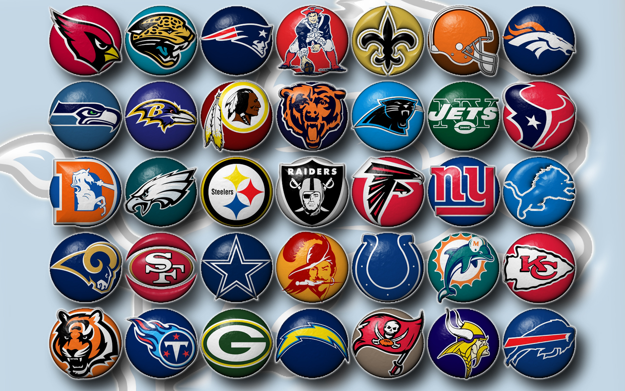 All American Football Team Logo Wallpaper Widescreen